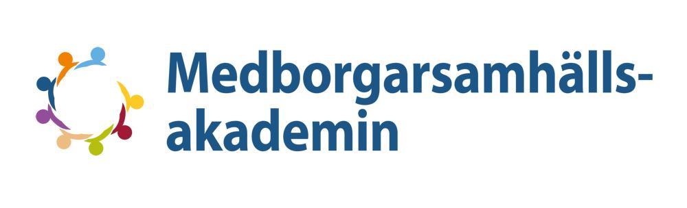 Medborgarsamhällsakademin logo.